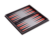 Games backgammon Stock Photo