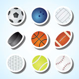 Games ball Stock Images