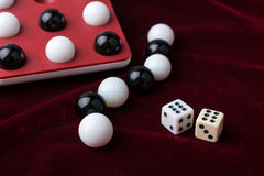 Games, balls and bones Royalty Free Stock Image