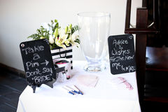 Games at a bridal shower. Party Royalty Free Stock Photo
