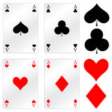 Games cards Royalty Free Stock Photo