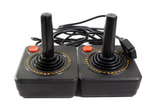 Games console retro vintage from japan Royalty Free Stock Photo