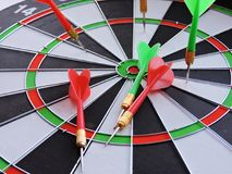 Games with Darts entertainment for people Royalty Free Stock Photo