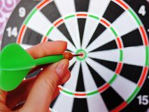 Games with Darts entertainment for people Royalty Free Stock Photography
