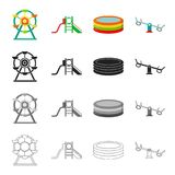 Games, entertainment, celebration and other web icon in cartoon style. Mood, equipment, recreation icons in set Stock Photography
