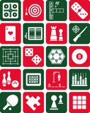 Games icons Stock Photo