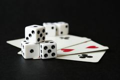 Games of Luck Stock Images