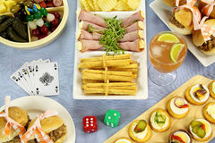 Games Night Royalty Free Stock Images