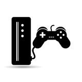 Games online entertainment isolated icon design. Illustration  graphic Stock Photo