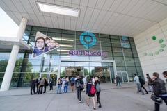 Gamescon entrance Stock Images