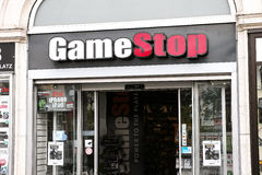 GameStop fotografia stock