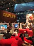 Gamex-Ausstellung Köln Stockfotografie