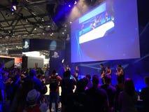 Gamex utställning Cologne Arkivfoton