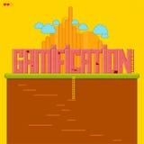 Gamification Fotografia Stock