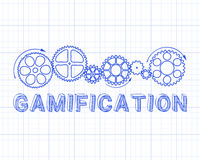 Gamification Graph Paper Stock Photos