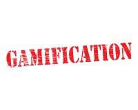 Gamification Stencil stock illustration