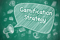 Gamification Strategy - Business Concept. Royalty Free Stock Photo