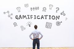 Gamifications-Konzept Lizenzfreie Stockfotografie