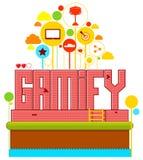 Gamify Obraz Royalty Free