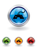 Gaming button from series Stock Images