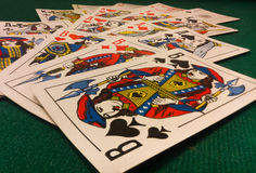 Gaming cards Stock Image