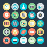 Gaming Colored Vector Icons 3 Royalty Free Stock Photography