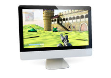 Gaming computer Royalty Free Stock Photography
