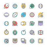 Gaming Cool Vector Icons 4 Royalty Free Stock Photo