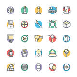 Gaming Cool Vector Icons 3 Stock Images