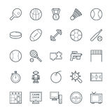 Gaming Cool Vector Icons 4 Stock Image