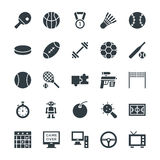Gaming Cool Vector Icons 4 stock images