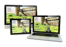 Gaming devices Stock Photography