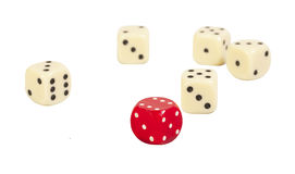 Gaming dice Royalty Free Stock Photos