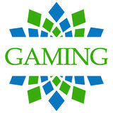 Gaming Green Blue Circular Stock Photo