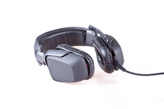 Gaming headet. A gaming headset on white background Stock Photos