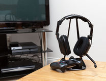 Gaming headphones Royalty Free Stock Photos