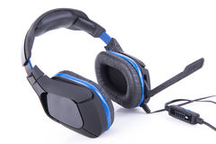 Gaming Headset with microphone Royalty Free Stock Photography