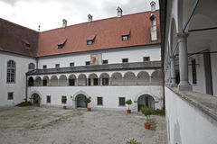 Gaming - late Carthusian cloister in Austria Stock Images