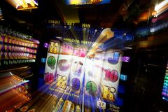 Gaming Machines Royalty Free Stock Images