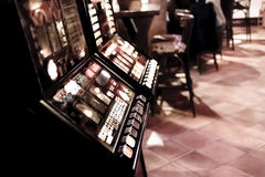 Gaming machines in the pub. Stock Photo