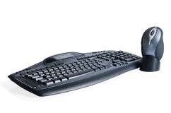 Gaming media keyboard & mouse Stock Images