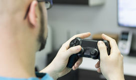 Gaming online Royalty Free Stock Photos