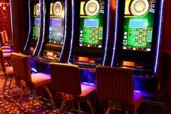 Gaming slot machines Royalty Free Stock Image