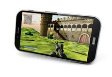 Gaming smartphone Stock Image