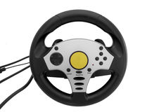Gaming steering wheel Stock Photography