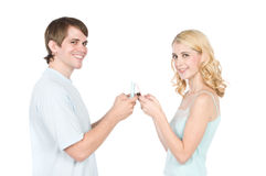 Gaming Together Royalty Free Stock Photo