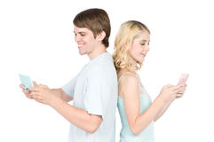 Gaming Together Stock Photo