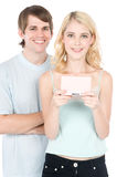 Gaming Together Stock Images
