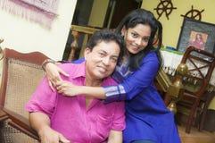 Gamini and prathiba Stock Photo