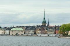 Gamla斯坦,斯德哥尔摩老镇  免版税库存图片
